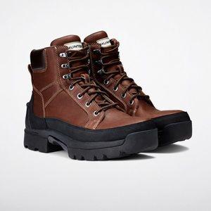 Hunter Balmoral Lace Up Boot